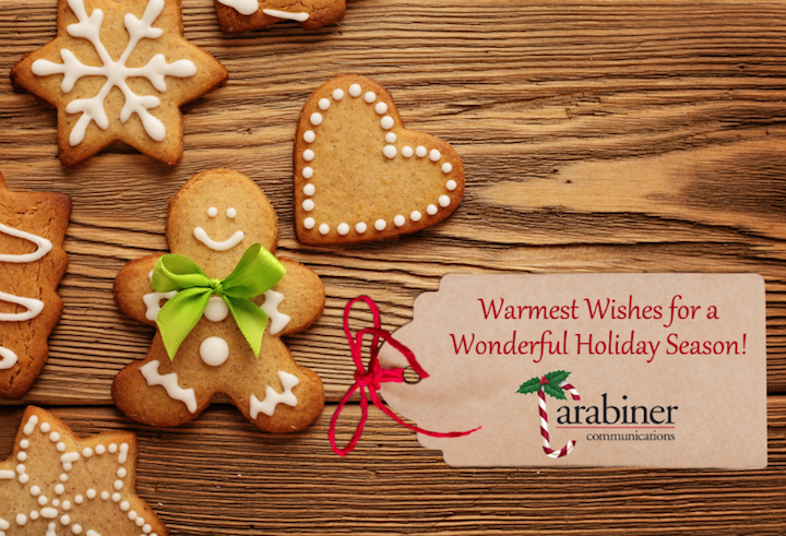Happy Holidays from Carabiner Communications!