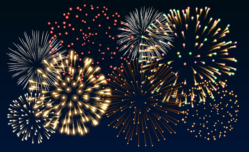 how to create fireworks in imessage