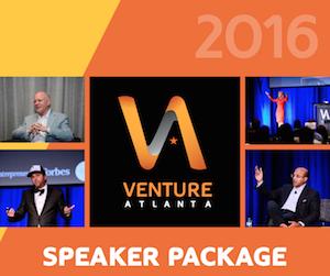 Venture Atlanta Speaker Package