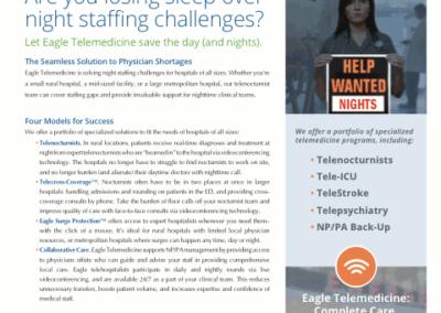Eagle Telemedicine – Night Shift Solutions