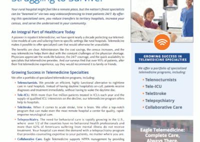 Eagle Telemedicine – Programs