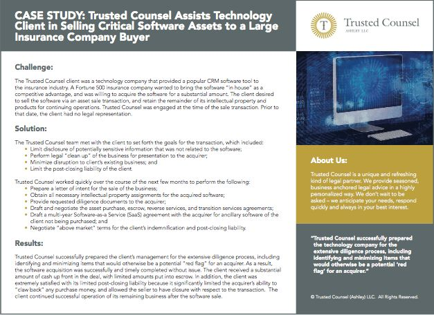 Trusted Counsel Case Study